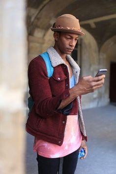 Paris Men's Fashion Week street style [Photo by Kuba Dabrowski]