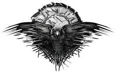 The crows - All man must die. - Game of Thrones by DarkBlue99 on @DeviantArt