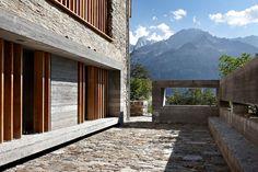 Redevelopment of a Barn in Soglio by Ruinelli Associati Architetti | HomeDSGN