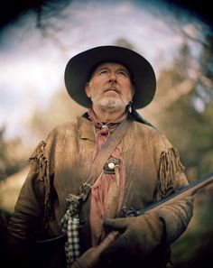 """Mike""""Tio Miguel""""Morgan,now a trapper in Lauren,MT. was a Navy captain for 30 years before joining the American Mountain Men. Mountain Man Rendezvous, Man Hunter, Fur Trade, American Frontier, Documentary Photography, Old West, Man Photo, Photojournalism, Figure Painting"""