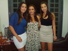 Natal com as minhas filhas  Nicole e Renata