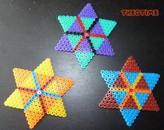 Stars designs hama beads