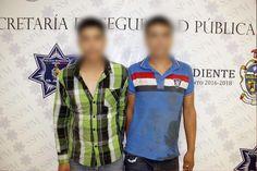 Municipales de Juárez sofocan riña campal por celos afuera del bar Cavas, detienen a tres y aseguran a diez jóvenes