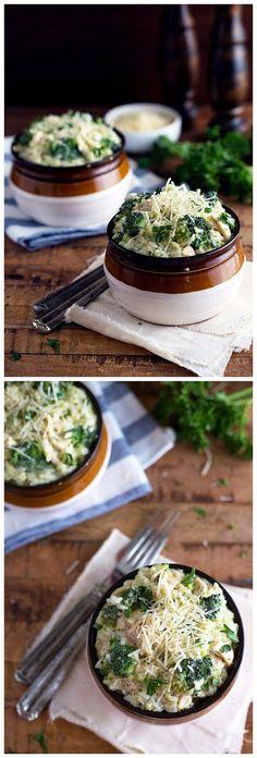 Creamy Chicken, Broccoli and Rice Divan ~ Chopped Jalapeno
