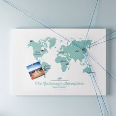 Personalised world travel map with pins pin boards bedrooms and personalised world travel map with pins pin boards bedrooms and kitchens gumiabroncs Choice Image