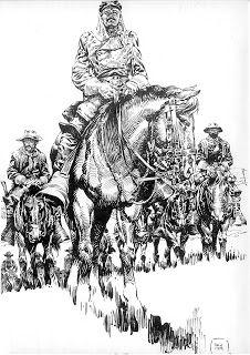 El viejo oeste, por Hernandez Palacios