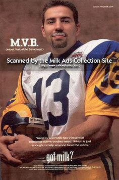 Kurt Warner, Got Milk