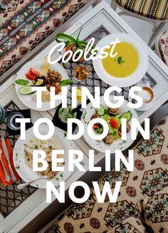 From bold hotels to upscale restaurants. #Berlin #Germany #Europe