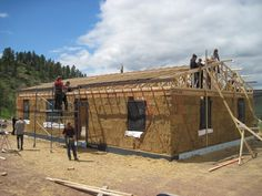 Why should a good house cost 30 years of your life? 50 strawbale house plans: http://www.balewatch.com/