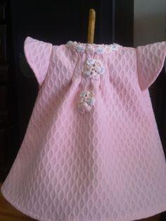 Vestidiño Nenuca en piqué rosa