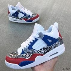 Behind The Scenes By chadcantcolor Popular Sneakers, Best Sneakers, Air Max Sneakers, Sneakers Fashion, Jordans Sneakers, Trending Shoes For Men, Custom Jordans, Custom Shoes, Custom Sneakers