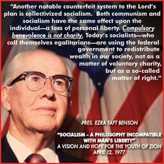 Communism & Socialism = Loss of Personal Liberty || Ezra Taft Benson