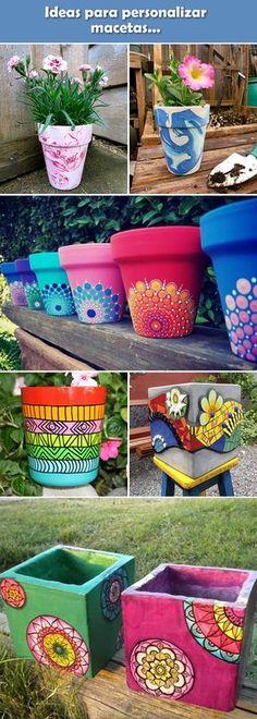 Pinterest & 334 Best Painted plant pots images in 2019 | Painted flower ...