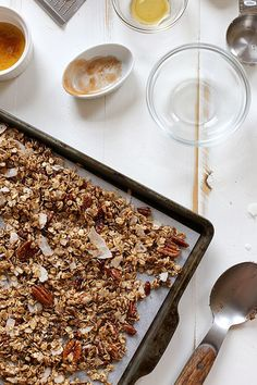 Oatmeal Cookie Granola by joy the baker, via Flickr