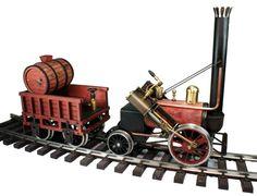 Regner Live Steam 1:24 Rocket loco. The Train Department - Your source for Regner Limited Edition Line Locomotives