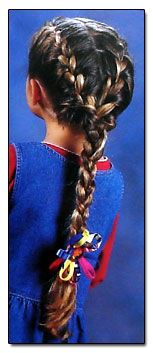 this site shows how to do all the different types of braids (fishtail, french, rope, etc.)
