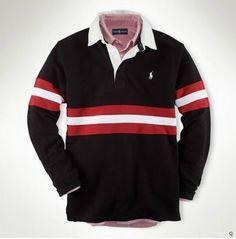 Men Ralph Lauren Polo Black Long Sleeve , shirts, t-shirts Red Polo Shirt, T Shirt, Polo Shirts, Ralph Lauren Long Sleeve, Polo Ralph Lauren, Long Sleeve Polo, Long Sleeve Shirts, Cool Things To Buy, Mens Fashion