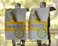 a clever thank you gift idea