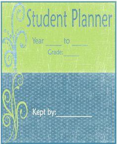 Free printable planners for homeschool