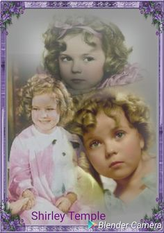 Little Shirley Temple ~ There will never be another little girl like her!