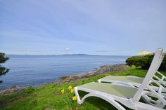 Visit BEACHHOUSE.com to book this House for your next beach vacation to Victoria, British Columbia. It has 3 bedrooms. Sleeps 8. The lowest daily rate is $275. The lowest weekly rate is $1650. Victoria 3 Bedroom Spectacular Ocean Front Vacation Home. You will want to experience this amazing east facing three bedroom ocean front vacation home, located in the Victoria British Columbia seaside neighbourhood of 10 Mile Point. Bask in the splendor of the best in west coast living. Ocean Sunrise…