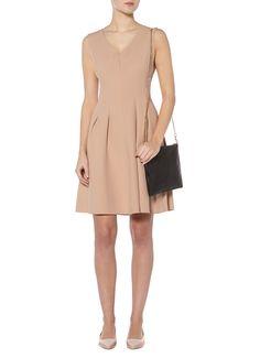 BENETTON Vestito A-lijn jurk met V-hals • de Bijenkorf
