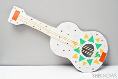 Cinco de Mayo crafts - Mariachi guitars