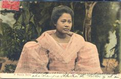 MANILA (FILIPINAS).- A MANILA BELLE (Postales - Postales Extranjero - Asia - Filipinas)