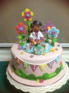 Doc Mcstuffins cake for molly's birthday next month