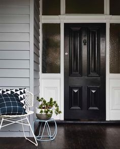 For the final touch to your home, make a statement with a bold door. Black has become increasingly popular, and really packs a punch when…