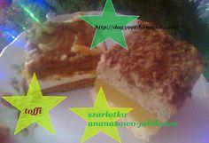 Ciasta ,Torty ,Uroczystości: Ciasto toffi i szarlotka ananasowo-jabłkowa