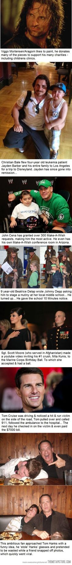Good Guy Celebs