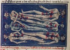 WORMS  Livre de la Vigne nostre Seigneur, France ca. 1450-1470.  Bodleian, MS. Douce 134, fol. 91v