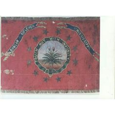 Flag of the Duncan Riflemen, Co. A, Third Battalion Mississippi Infantry/45th Mississippi Infantry Courtesy of the Mississippi Department of Archives & History, Jackson, MS.