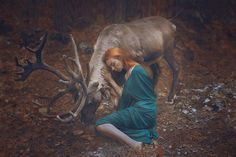 Russian Photographer Katerina Plotnikova Creates Stunning Photos With Wild Animals