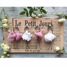 """""""Mi piace"""": 360, commenti: 29 - Daniela Corti•Wire & Textile (@filidipoesia) su Instagram: """"Mes p'tites filles sont prêtes à partir vers la France. Un grand MERCI à toutes mes amies…"""""""