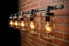 Thanks for the great review Nicole C. ★★★★★! http://etsy.me/2EdOvyH #etsy #housewares #lighting #bedroom #industrialutility #glass #masonjar #masonjarlight #pipelight #steampunklighting