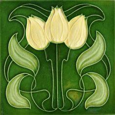 Mansfield Bros c1904/05 - RS0822 - Art Nouveau Tiles