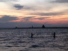 Sunset Michigan