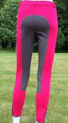 Annie's posh pink full seat breeches