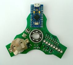 Learn to code with this electronics pimped fidget spinner https://hackaday.io/project/25494-learn-to-code-with-this-fidget-spinner