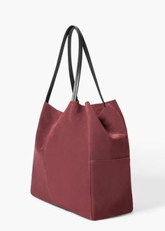 Suede shopper bag Via @simplylulustyle