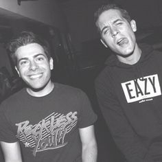 Hoodie Allen & G-Eazy I've fallen in love with these two. <3 <3 <3