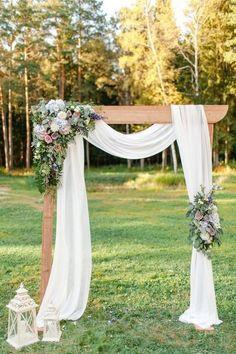 rustic fall wedding ceremony arch decor ideas #fallweddings #weddings #weddingideas #weddinginspiration #weddingdecors #weddingarches