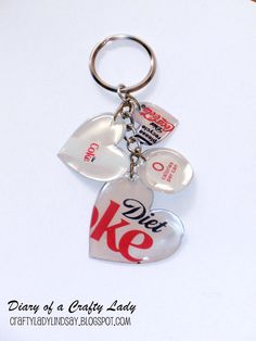 Show everyone your love of your favorite beverage with this cool keychain made with Mod Podge Dimensional Magic!