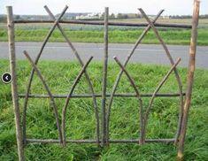 Ideas For Garden Fence Green Trellis - Alles über den Garten Trellis Fence, Diy Trellis, Garden Trellis, Garden Fencing, Garden Art, Garden Landscaping, Trellis Ideas, Fence Design, Garden Design