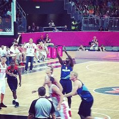 mitchrobles's photo  of London 2012 Basketball Arena on Instagram