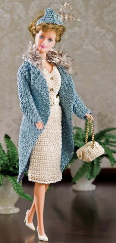 Dolls, Doll Clothes & Accessories DVD - Includes over 500 patterns for dolls big and small! Available at Maggie's Crochet
