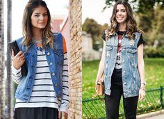 Curto ou longo, o item pode ser usado por cima de tops, blusas e até de vestidos