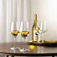 We'll toast to wine glasses as a great holiday gift.